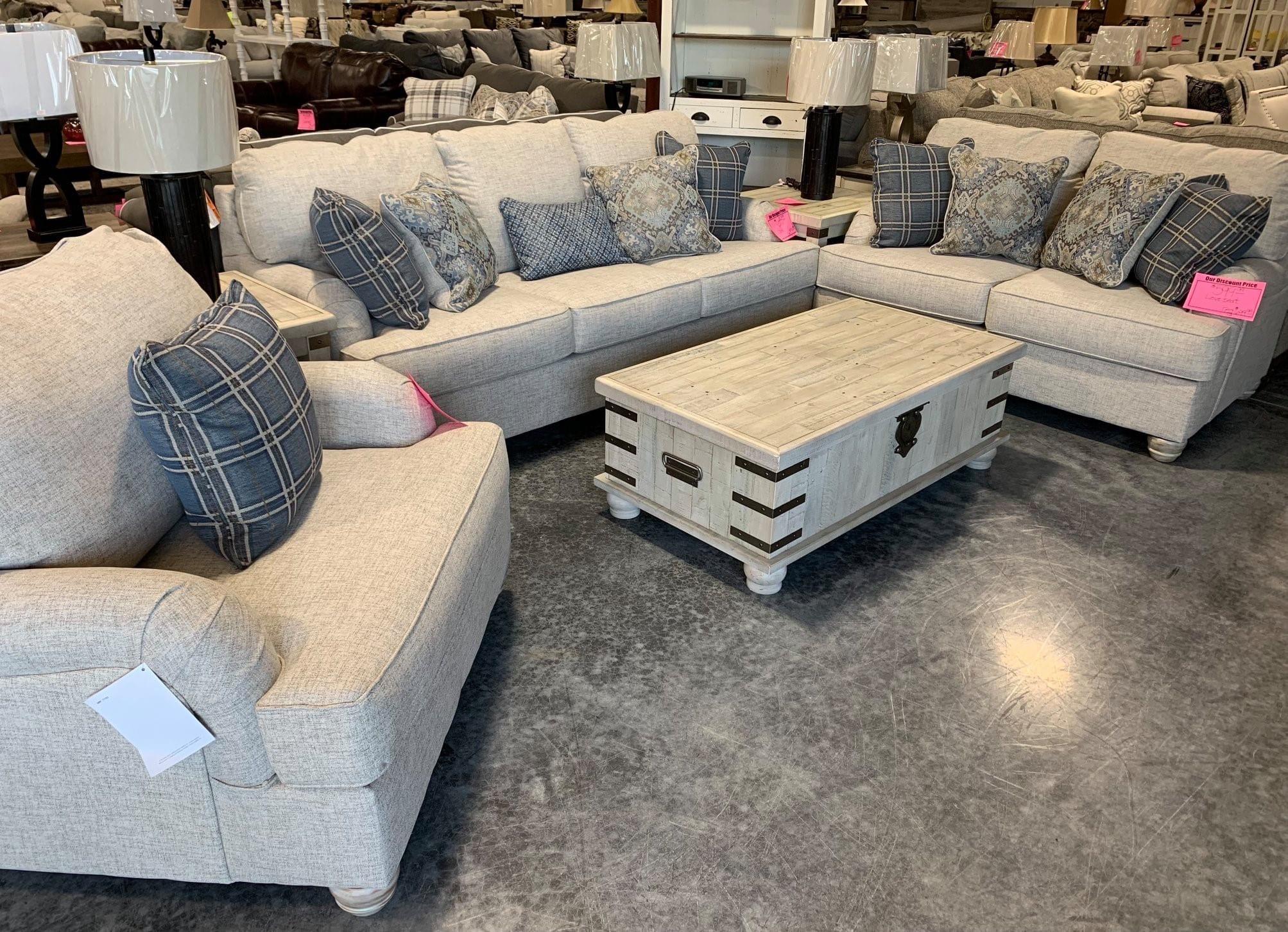 A Sofa & Loveseat Set by Ashley